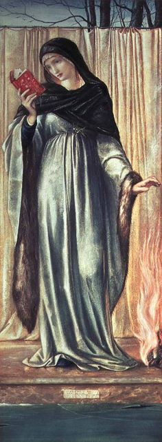 winter, burne-jones - Google Search