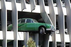 Car park bordeaux - france