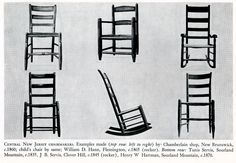 from William MacDonald's Central New Jersey Chairmaking Genealogy Research, Delaware, Ancestry, History, Historia