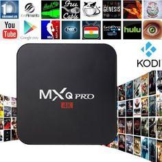 Zenoplige MXQ Pro Android TV Box Amlogic S905 Kodi Full Loaded Android 5.1 Lollipop OS TV Box Quad Core 1G/8G 4K Google Streaming Media Players with WiFi HDMI DLNA