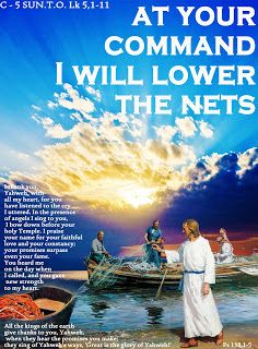 THE WORD OF THE LORD - GOSPEL YEAR C: C - 5 SUN.T.O.