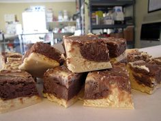Caramel-Chocolate-Sea Salt Goat's Milk Fudge by ChickensintheRoad