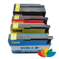 Compatible HP 950XL 951XL ink cartridge for Officejet Pro 8100 8600 8610 8615 8620 8630 8660  inkjet printer ( with chip )