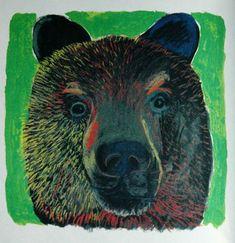 I adore this bear by Hiroshi Abe