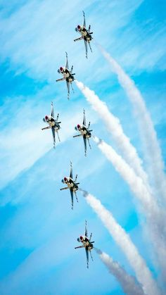 07/02/2018. Military Jets, Military Aircraft, Air Force Wallpaper, Best Wings, Thunderbirds Are Go, Aerial Acrobatics, Angel And Devil, Blue Angels, Air Show