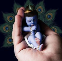Krishna Flute, Krishna Leela, Radha Krishna Love, Krishna Radha, Little Krishna, Cute Krishna, Lord Krishna Images, Radha Krishna Pictures, Baby Ganesha