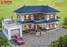 House Arch Design, 2 Storey House Design, Village House Design, Kerala House Design, Bungalow House Design, House Design Photos, Modern Exterior House Designs, Architectural Design House Plans, Modern House Plans