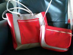 Tote bag & small shoulder bag -  Kasse och handväska