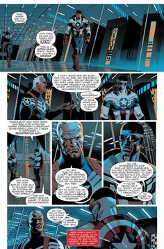 The New Captain AmericaComic Reveals the Big Difference Between Sam Wilson and Steve Rogers