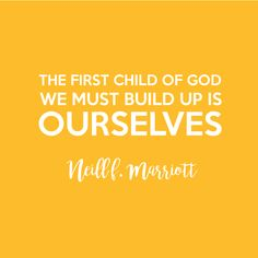 """""""The First Child of God We Must Build Up is Ourselves"""" - I LOVED this talk! 2016 LDS Women's Conference FREE Printable"""