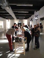 Edible Alchemy at STRP Biennale 2013   Carole Collet & Bartaku