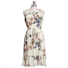 for the summer of weddings ahead?#ruche #dress #floral