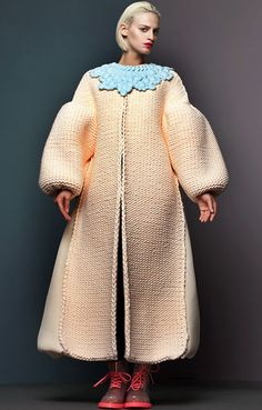 Xiao Li, the London-based Chinese puffy-knitting & glossing - from mikapoka: