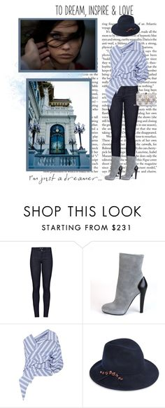 """Always Dreaming"" by seafreak83 on Polyvore featuring M.i.h Jeans, Posh Girl, Johanna Ortiz, Eugenia Kim and Valentino"