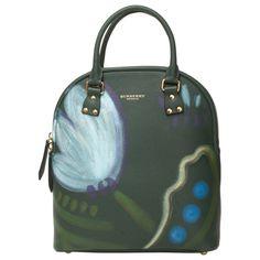 d034dc0b3664 Burberry Prorsum Grey Leather Bag