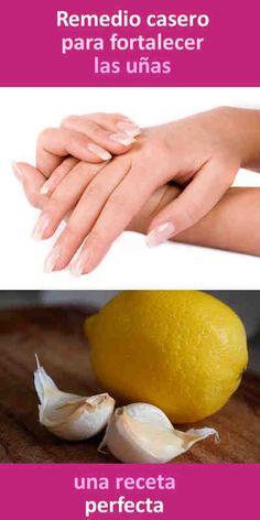 Remedio casero para fortalecer las uñas #uñas #belleza #fortalecer