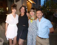 #WAWW A night out with #denverdesigners and FGI Denver. Our asym wrap skirt was perfect for a mid summer happy hour!