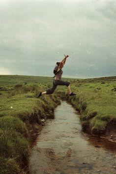 Já fiz isso, pisei na beira do barranco e fui direto pra água!!! kkkkkkkkkkkkkk