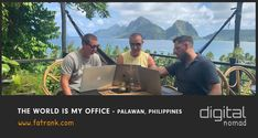 Check where is the best place? Travelling the world and utilising all the amazing locations to use as your office is what digital nomads make the most of. Palawan, Digital Nomad, Philippines, The Good Place, World, Places, Travel, Viajes, Trips