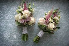 vintage pink bridesmaids bouquets | Flickr - Photo Sharing!