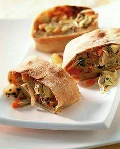 Se dico #strudel pensate subito alle #mele? Oggi vi faremo ricredere! Un buon lunedì con questo strudel di #verdure! Ph credits: cucina.corriere.it
