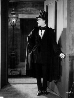 John Barrymore in Dr. Jekyll and Mr. Hyde.