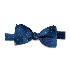 Dots on Navy Bowtie | Combatant Gentlemen