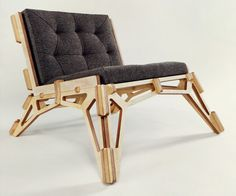 plywood furniture - Spaceframe Furniture by Gustav Düsing Photo Plywood Furniture, Plywood Chair, Design Furniture, Building Furniture, Furniture Nyc, Furniture Market, Furniture Movers, Furniture Removal, Furniture Outlet