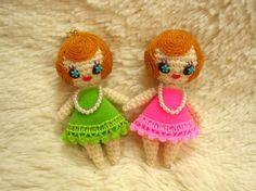 編んだお人形の画像:あけつん!