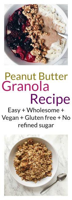 peanut butter granola recipe