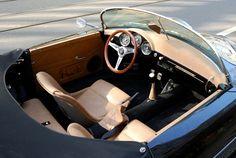 356 Porsche pictures | Porsche 356 Speedster Interior