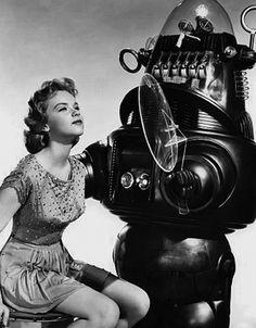 """""""Planeta prohibido"""": robots y chicas guapas. Quién quiere más."""