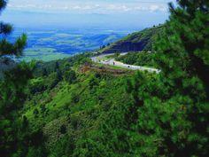 Serra da mantiqueira visto de cima- SP Brasil