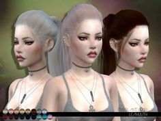 The Sims Resource: Everlast Hair by LeahLillith - Sims 4 Hairs - http://sims4hairs.com/the-sims-resource-everlast-hair-by-leahlillith/