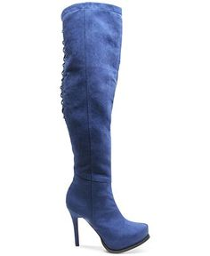 Two Lips Lux Over-the-Knee Boots - Boots - Shoes - Macy's