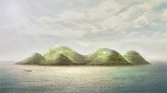 1   Envisioning The City Of The Future As A Man-Made Island   Co.Design: business + innovation + design