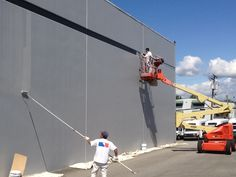 Commercial Paint and Safety and security Go Together