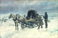 Death of Sten Sture the Younger - Carl Gustaf Hellqvist -