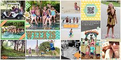 2015: Week 262015: Week 26 My Life Templates 7 by Scrapping with Liz Everyday Life July Bundle by Juno Designs
