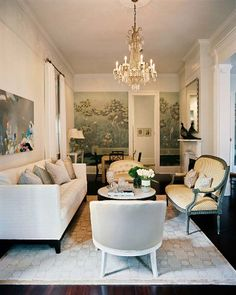 Gorgeous! New-Orleans-Louisiana-Living-Room-Overview via John Loecke and Jason Oliver Nixon of New York-based Madcap Cottage Inc.