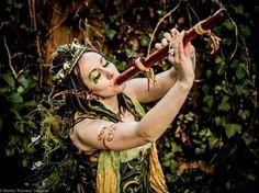 "Woodwinds in the Garden with Princess Lolly Photo: Benito ""Romero"" Vasquez Festival Friends, Faerie Costume, Mists Of Avalon, Castle Project, Zoo Photos, Renaissance Fair Costume, World 7, Beltane, Fairy Princesses"