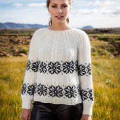 istex-strikkeopskrift-island-uld-nordisk-garn-lettlopi-Fletta-sweater-dame