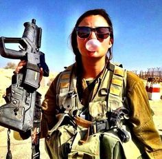 Images of IDF women, scenes from Israel with some commentary.