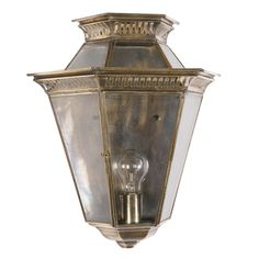Period - Exterior-lanterns - Bevelled Glass Wall Lantern - Bespoke Lighting - Products - The Limehouse Lamp Company Ltd Outdoor Porch Lights, Porch Lighting, Victorian Front Doors, Exterior Wall Light, How To Make Lanterns, Reproduction, Wall Lantern, Beveled Glass, Light Fittings