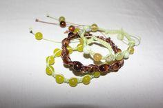 pulseiras shambala com pedra natural
