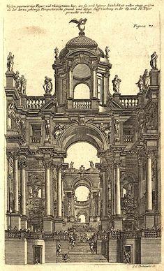 Andrea Pozzo fachada perspectiva
