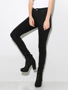 Tight Jeans New Black - OAK