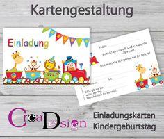 Einladungskarten Kindergeburtstag : Einladungskarten Geburtstag Selbst  Gestalten   Kindergeburtstag Einladung   Kindergeburtstag Einladung