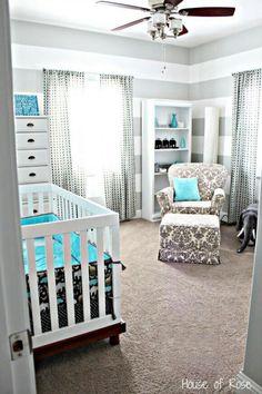 Nice infant Toddler boys room
