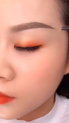 Eyebrow Makeup Tips, Edgy Makeup, Eye Makeup Brushes, Dark Skin Makeup, Asian Makeup, Makeup Videos, Makeup Eyes, Natural Makeup Look Tutorial, Model Makeup Tutorial